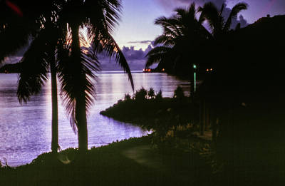 Photograph - Samoan Sunrise by Samuel M Purvis III