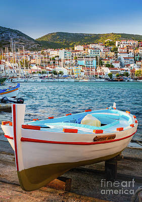Photograph - Samos Boat by Inge Johnsson