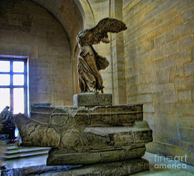 Nike Photograph - Samothrace II by Chuck Kuhn