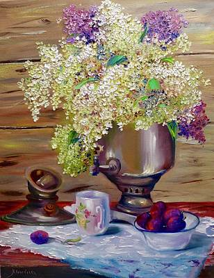 Samovar Painting - Samovar by Marina Wirtz