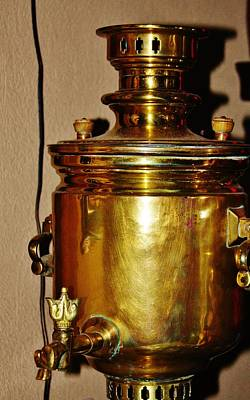 Photograph - Samovar by Vadim Levin