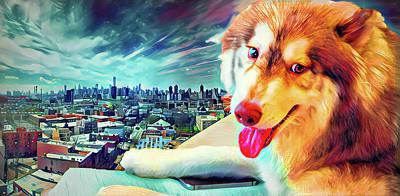 Samoyed In New York Original