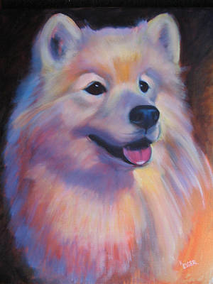 Painting - Samoyed by Kaytee Esser
