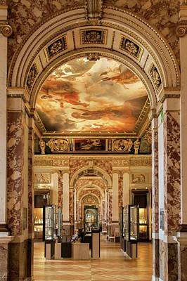 Photograph - Sampling The Gateways And The Hallways Of The Louvre - 4 by Hany J