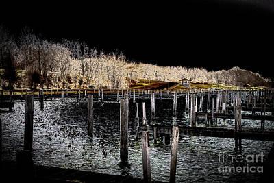 Photograph - Sampson Boat Docks by William Norton