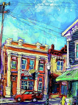 Painting - Sam's Place by Les Leffingwell
