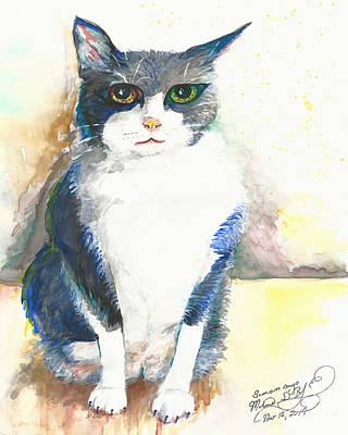 Painting - Samson Says by Melinda Dare Benfield