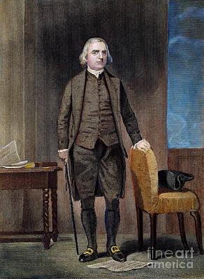 Photograph - Samuel Adams (1722-1802) by Granger