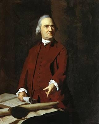 Painting - Samuel Adams by Copley John Singleton