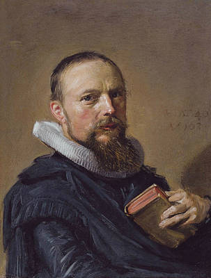 Painting - Samuel Ampzing by Frans Hals