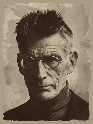 Bath Time Rights Managed Images - Samuel Beckett 1 Royalty-Free Image by Afterdarkness