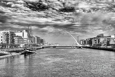 Photograph - Samuel Beckett Bridge, Dublin by Jim Orr