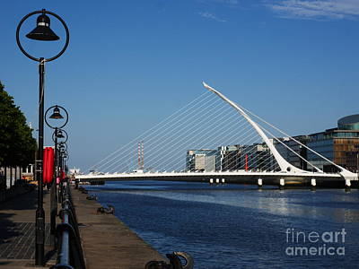 Photograph - Samuel Beckett Bridge Dublin by Lexa Harpell