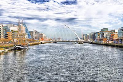 Photograph - Samuel Beckett Bridge by Jim Orr