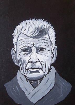 Samuel Beckett Art Print by Eamon Reilly