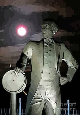 Target Threshold Nature - Samuel Cunard Views the Full Moon by John Malone