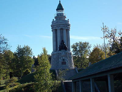 Crown Point New York Photograph - Samuel De Champlain Lighthouse by Catherine Gagne