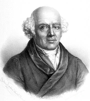 Samuel Hahnemann, German Physician Art Print by Science Source