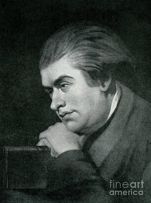 Drawing - Samuel Johnson  Portrait by George Zobel