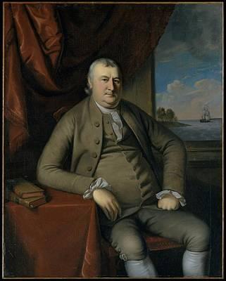 Samuel Mifflin Original by Charles Willson Peale