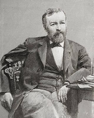 Samuel Pierpont Langley, 1834 - 1906 Print by Vintage Design Pics