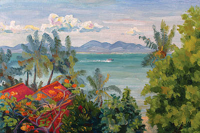 Painting - Samui Morning by Alina Malykhina