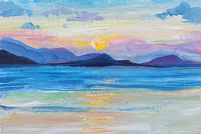 Painting - Samui Sunset by Alina Malykhina