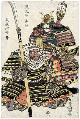 Photograph - Samurai, 12th Century by Granger