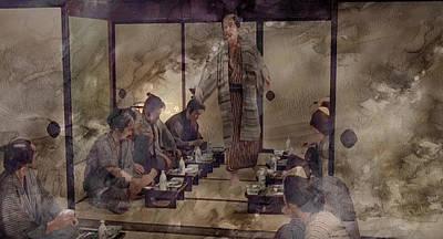 Artwork Painting - Samurai 97452 by Jani Heinonen