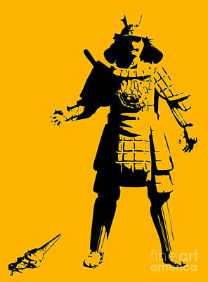Martial Art Digital Art - Samurai Fail by Pixel Chimp