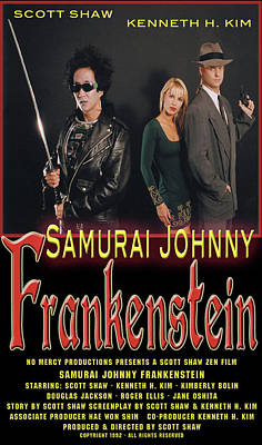 Photograph - Samurai Johnny Frankenstein by The Scott Shaw Poster Gallery