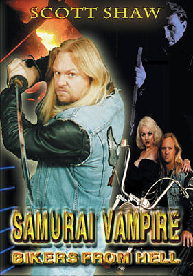 Photograph - Samurai Vampire Bikers From Hell by The Scott Shaw Poster Gallery