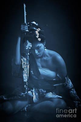 Photograph - Samurai Woman by Kiran Joshi