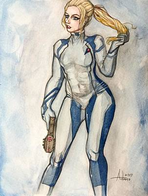 Painting - Samus by Jimmy Adams