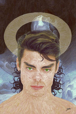 Atheist Painting - San Alarico by Joaquin Abella