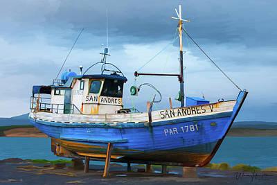 Painting - San Andhes V by Wally Hampton