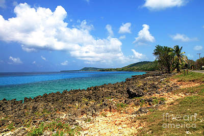 Photograph - San Andres Island Seascape by John Rizzuto