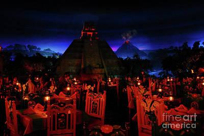 Night Angel Photograph - San Angel Inn Mexico by David Lee Thompson