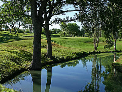 Photograph - San Angelo Country Club #1 by Bob Zeller