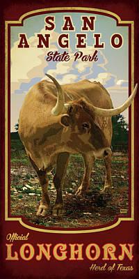 San Angelo State Park Art Print