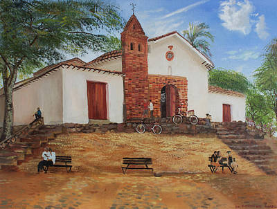 San Antonio Painting - San Antonio by Alyona Pastuhova