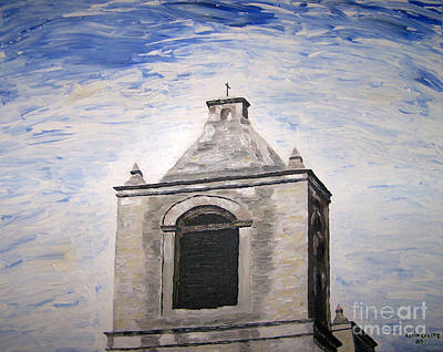 Painting - San Antonio Belltower by Kevin Croitz
