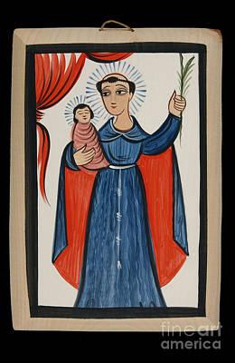 Painting - San Antonio De Padua - St. Anthony Of Padua - Aoanp by Br Arturo Olivas OFS