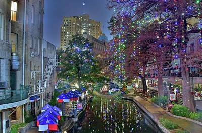 Photograph - San Antonio In December by Frozen in Time Fine Art Photography