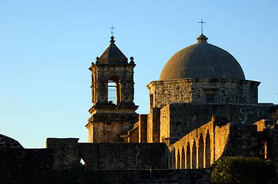 Photograph - San Antonio Mission by Jill Reger