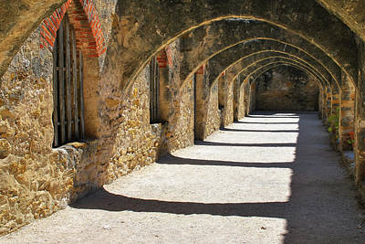 Photograph - San Antonio Mission San Jose by Gregory Ballos