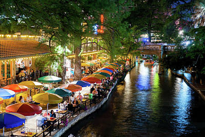Photograph - San Antonio River Walk 072716 by Rospotte Photography