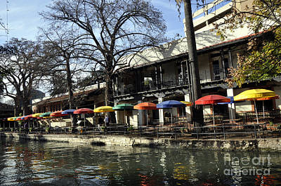 Photograph - San Antonio River Walk 2 by Andrew Dinh