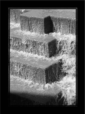 Photograph - San Antonio River Walk 2 Bandw by David Dunham