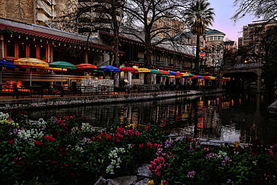 Photograph - San Antonio River Walk 2 by Judy Vincent